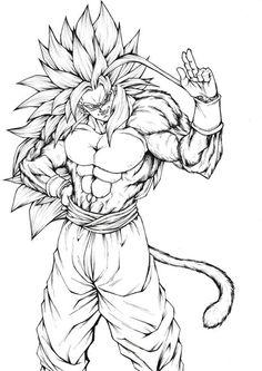 Foto Do Goku, Naruto Sketch, Super Coloring Pages, Ball Drawing, Devian Art, Graffiti Characters, Cartoon Painting, Anime Tattoos, Dragon Ball Gt