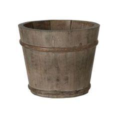 Terrain Pine Barrel Pot  #shopterrain - loving this shop