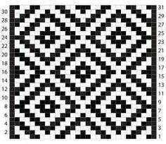 뜨개와수다의 만남   BAND Tapestry Crochet Patterns, Fair Isle Knitting Patterns, Chunky Knitting Patterns, Knitting Charts, Mosaic Patterns, Knitting Stitches, Easy Knitting, Knitting Ideas, C2c Crochet