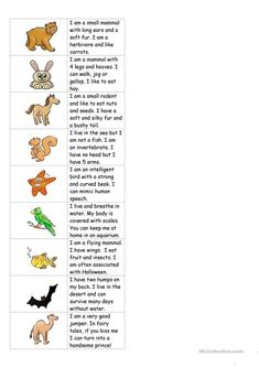 Animals dominoes (with text)
