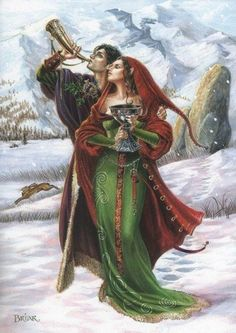 WINTER SOLSTICE BY BRIAR