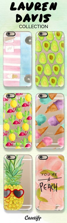Shop these artistic designs by Lauren Davis here: https://www.casetify.com/LaurenDavisDesign/collection | @casetify