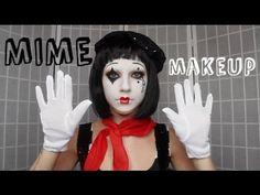 Pantomime Clown Make-up List Of Halloween Costumes, Original Halloween Costumes, Halloween Food Crafts, Creepy Halloween, Halloween 2017, Halloween Cosplay, Halloween Makeup, Halloween Stuff, Mime Costume