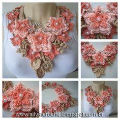 Silvia Gramani: Colar Mistral Flower lovely <3