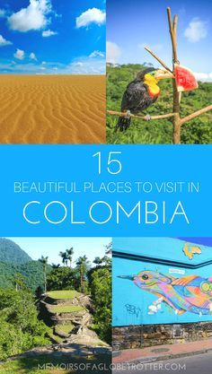#Colombia is quickly becoming one of South America's hottest destinations. With its colonial towns, sandy beaches, captivating scenery, sprawling cities, jungle treks and vibrant street art, Colombia has destinations to suit every kind of traveler. Coffee lovers will be delighted to hear that Colombia's coffee is among the best in the world!