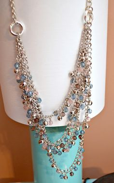 Styled by Tori Spelling Jewelry: Easy as 1-2-3! Love the length of this! Great giveaway at One Artsy Mama