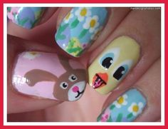 simple nail designs for kids