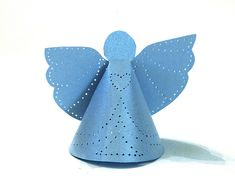 Punched Tin Paper Angels