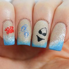 The beauty buffs nauticalbeach trend nail art wondrously the best nail polish brands season 2016 2017 styles latest prinsesfo Image collections