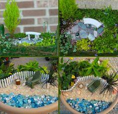 8 réaliser un joli mini jardin