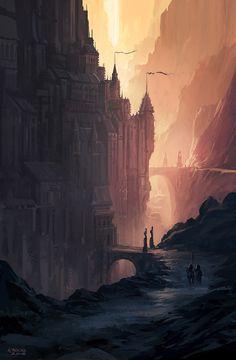 """Andreas Rocha """"The Citadel""""."""