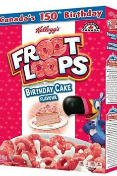 Inspiration Picture of Birthday Cake Flavors . Birthday Cake Flavors Try Not To Hyperventilate But Birthday Cake Flavored Froot Loops Birthday Cake Protein Bars, Birthday Cake Flavors, Birthday Desserts, Wedding Cake Flavors, Cool Birthday Cakes, Nabisco Oreo, Cake Varieties, Cereal Bars, Cereal Food