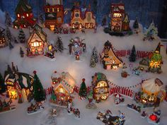 Part of North Pole Village