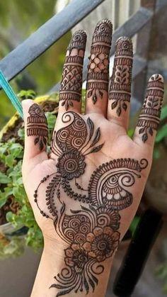 Pretty Henna Designs, Henna Tattoo Designs Simple, Indian Henna Designs, Mehandhi Designs, Latest Bridal Mehndi Designs, Full Hand Mehndi Designs, Henna Art Designs, Mehndi Designs 2018, Mehndi Designs For Beginners