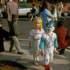 Halloween, 1974- these two are seriously disturbing.