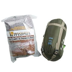 Weanas® Cool Weather Sleeping Bag Summer School Sleeping Bag Waterproof Lightweight for Sport Adventurer Camping Hiking (Army Green) Weanas http://www.amazon.com/dp/B00E56HBPC/ref=cm_sw_r_pi_dp_k.I0ub1H2WFTJ