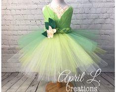 Princess Costume Pink Princess Tutu Dress Cinderella Dress   Etsy Toddler Princess Costume, Princess Tutu, Princess Birthday, Green Tutu, Pink And Green, Cinderella Dresses, Ball Gowns, Dress Up, Fashion Dresses