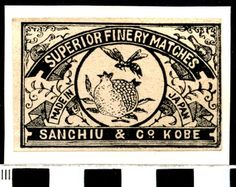 MATCHBOX LABEL, JAPAN, 19. | eBay