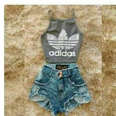 Cute Teen Outfits, Teen Fashion Outfits, Sporty Outfits, Teenager Outfits, Cute Summer Outfits, Look Fashion, Outfits For Teens, Trendy Outfits, Dress Outfits