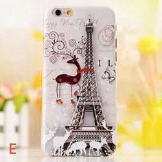 Fashion Ultra-thin Painted Relief Case for iPhone 6/6 Plus - Iphone Accessories - Iphone Accessories