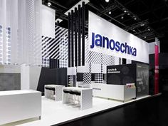 Janoschka Fair stand at drupa 2012 by Ippolito Fleitz Group, Düsseldorf exhibit design