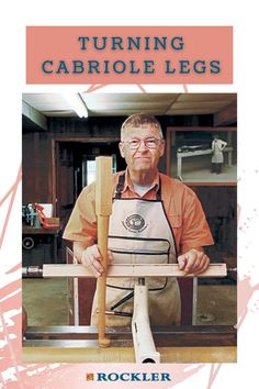 Watch as Ernie Conover turns in more than one axis to create cabriole legs — a furniture feature made popular in the Queen Anne style. Let Rockler help you create with confidence today!  #createwithconfidence #rockler #ernieconover #cabriole #cabriolelegs
