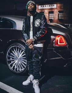 Curren$y in the Nike Air Force 1 High