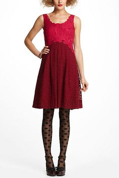 Carmindy Dress - front--Moulinette Soeurs--anthropologie.com