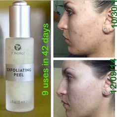 It Works Exfoliating Peel Lets get started!!! Message me for more information!!! Www.nesa98getsuthin.com