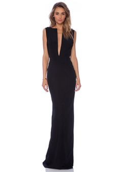 SOLACE London Linder maxi Dress in Black | REVOLVE