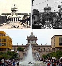 Hospicio Cabañas Guadalajara: Antes y Después