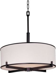 """Too big.  Office area - View the Maxim 12053 4 Light 22"""" Wide Pendant from the Nexus Collection at LightingDirect.com."""