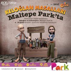 Keloğlan Masalları #MaltepePark'ta!   Unutulmaz masal kahramanı Keloğlan ve arkadaşları 4-16 Şubat tarihleri arasında Maltepe Park'ta miniklerle buluşuyor!