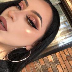 Gorgeous Makeup: Tips and Tricks With Eye Makeup and Eyeshadow – Makeup Design Ideas Glam Makeup, Baddie Makeup, Cute Makeup, Gorgeous Makeup, Pretty Makeup, Skin Makeup, Makeup Inspo, Eyeshadow Makeup, Makeup Inspiration