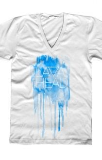 The Splatter V-Neck - LiveLavaLive Shirt