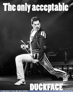 Freddie always gets a pass!!