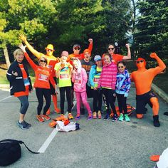 Good morning, #OTFnation! #OTFSouthOakville is at the @mercedesoakville10k and we are READY TO RUN! Find us in the crowd to get your picture taken with the #Orangemen!