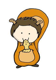 Dean the squirrel ❤ spn love