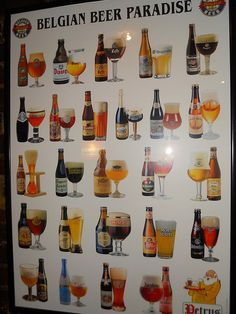 Belgian beer paradise by Ben Sutherland