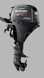 SUZUKI Suzuki DF20A  For the economic Outboard class Japan's Introduces New Outboard - 20Hp.