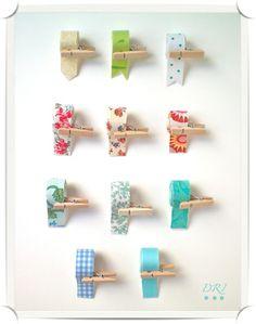 Reciclar tela: Cinta adhesiva de doble cara, las telas que queramos reciclar y en un momentito tendremos nuestro propio Fabric Tape.