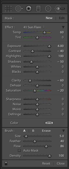 lightroom-brush-panel-sun-flare