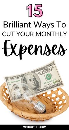 How to cut your monthly expenses. Follow these tips to help you save money, pay off debt, and stop living paycheck to paycheck. Here's some things you might be wasting money on. Fast ways to reduce your household budget and expenses.