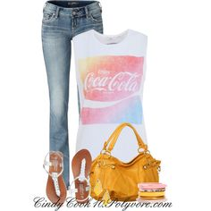 Coca-Cola Love, created by cindycook10 on Polyvore