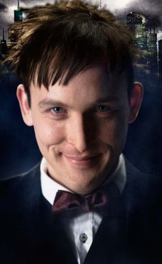 Robin Lord Taylor as Gotham's Oswald Cobblepot as the Penguin