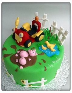 Tractor Tom Cake Traktor Tom torta: