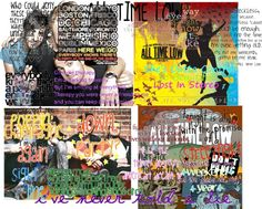 """All Time Low lyrics 1"" by bvb-ninja-freak on Polyvore"