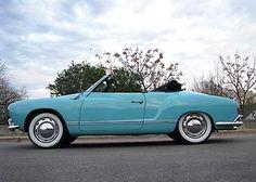 Karmann Ghia convertible in this color!!! - Dream car #2