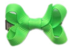 "How To Make Small Hair Bow Instructions hip girl boutique free instructions--small hair bow instructions 3/8"" grosgrain ribbon, 12"" in length makes a 2"" small hair..."