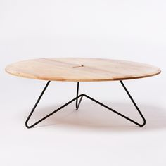 Coffee Table: Ash on Black — Such + Such Shop